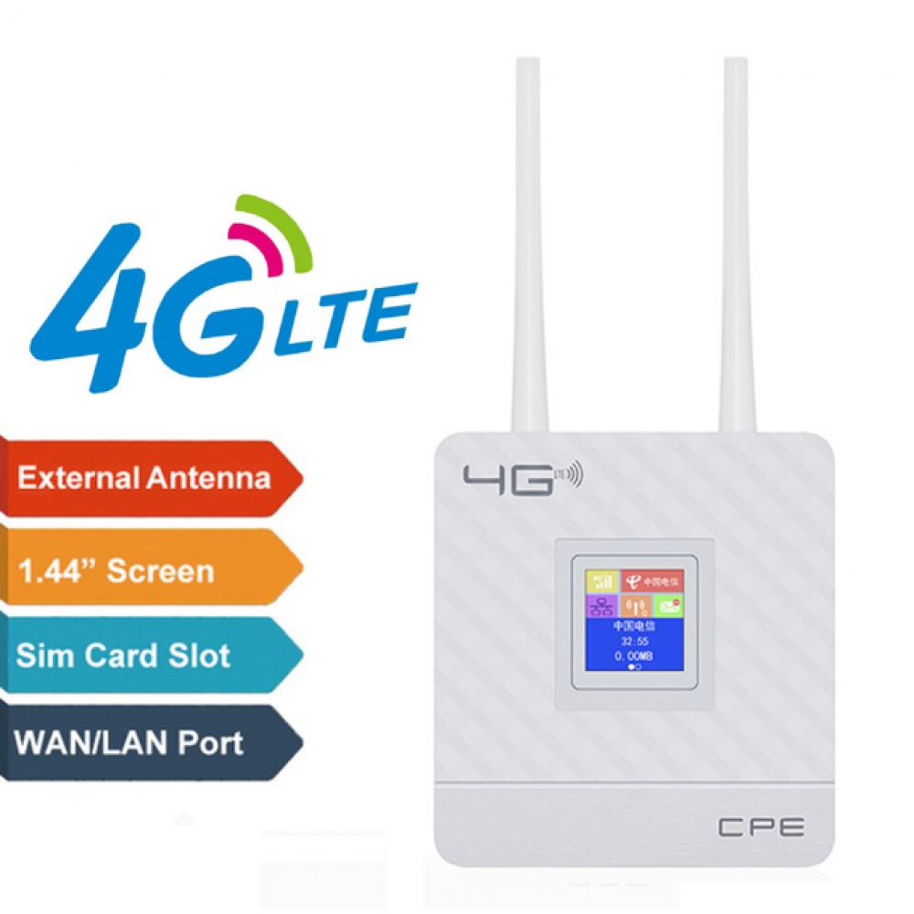 Bluei 4G Router with sim card